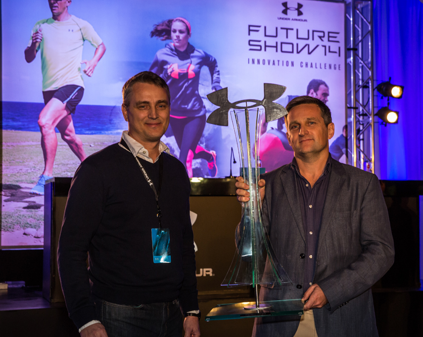 Omegawave Wins First Prize At The Under Armour Future Show