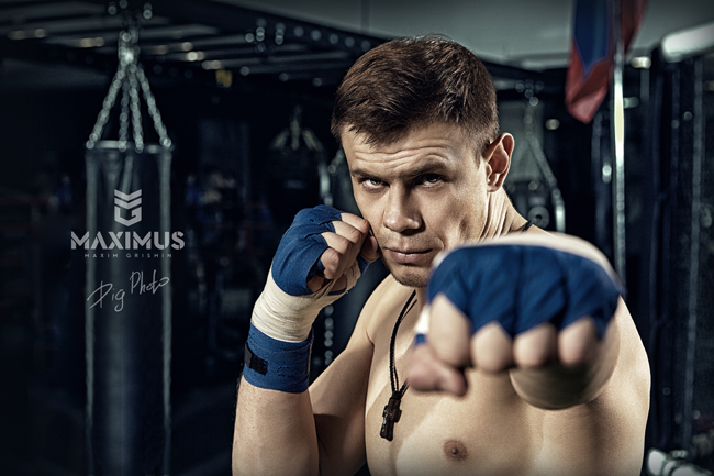 One Step Ahead: MMA Fighter Maxim Grishin